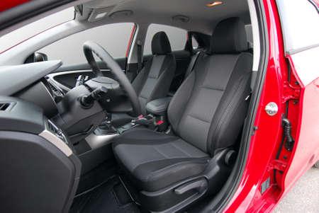 Front car seats