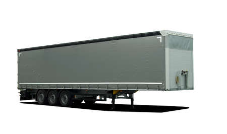 semitrailer: Truck semi trailer