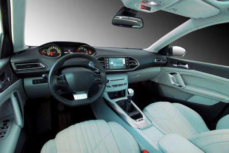 asiento coche: interior del coche