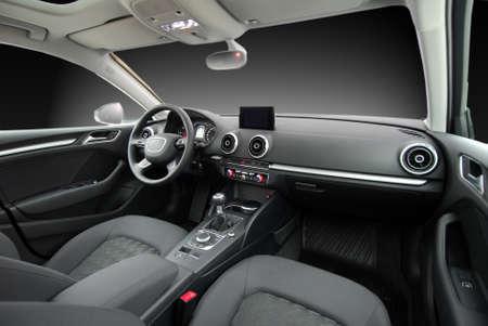 interior shot: Car interior Stock Photo