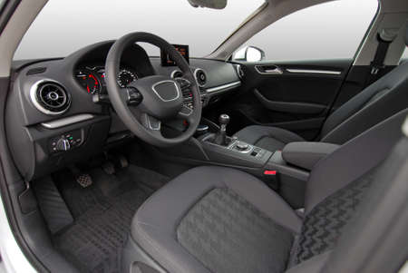 Car Interior  Standard-Bild - 48092093