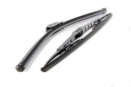 two cars windshield wipers