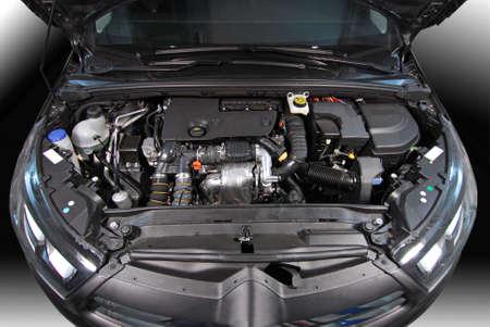 motor coche: motor de coche