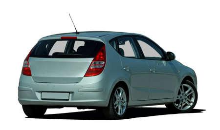 hatchback: gray hatchback