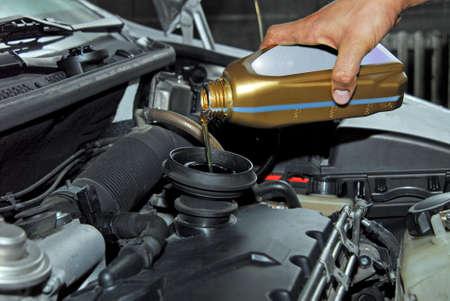 Adding Oil to a Car