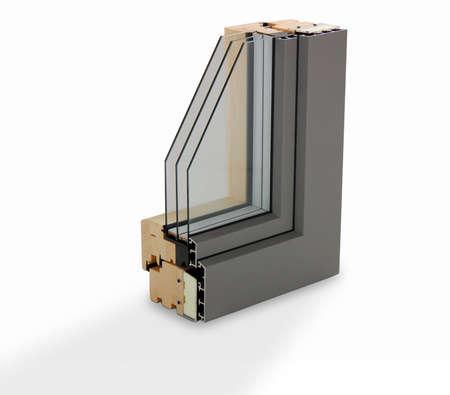 profilo della finestra di legno