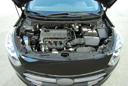 airbag: car engine