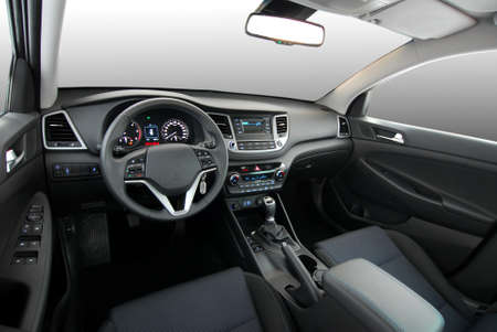 Car Interior  Standard-Bild - 55414127