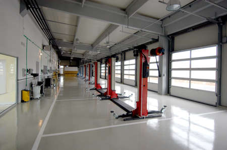 car repair garage, autoservice