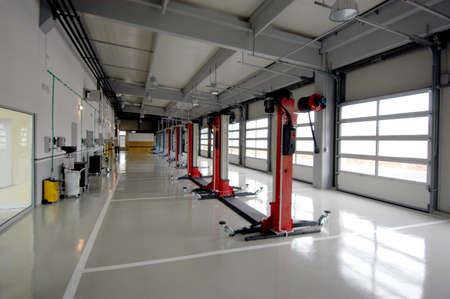Garaje de reparación, autoservicio Foto de archivo - 62192600
