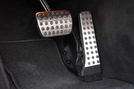 Brake and accelerator pedal