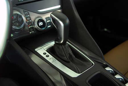 shift: automatic gear shift Stock Photo
