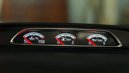Instrument panel of the car