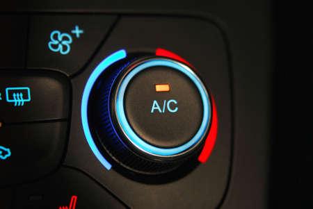 Automatic Car Air Conditioner 写真素材