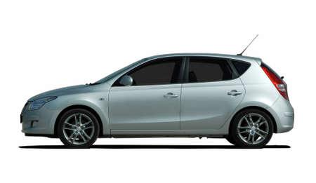 shiny car: compact car