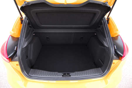 car trunk Stock Photo