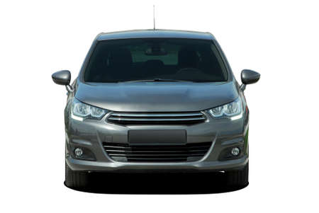 car front view Stock Photo