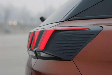 Rear car light Stock Photo