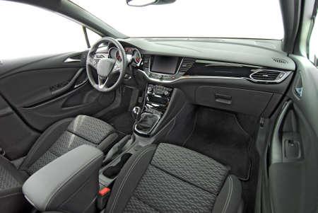 tablero de un coche moderno