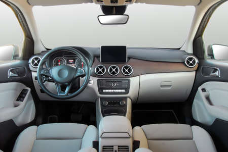 현대 자동차의 대시보드 스톡 콘텐츠