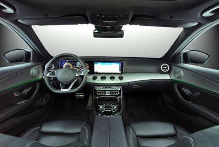 dashboard of a modern car Stockfoto