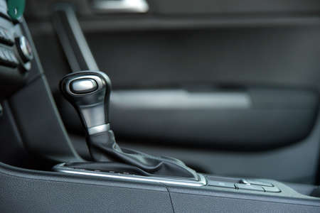 automatic gear shift Stockfoto