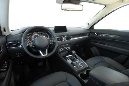 dashboard of a modern SUV