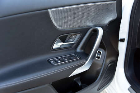 side mirror switch control, window control, central locking and car door handles