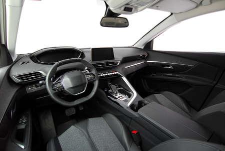 Interior of a modern car Standard-Bild