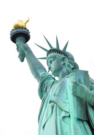 independencia: Símbolo americano - Estatua de la Libertad. Nueva York, EE.UU..