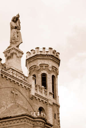 institute is holy: The Notre Dame of Jerusalem Center, Israel  Sepia