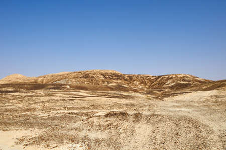 hottest: The hottest, southern stretch of the Arabah(Arava), Israel. Stock Photo