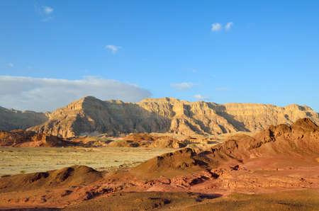 The Timna Valley - historical area is rich in copper ore,  the southwestern Arabah, Israel. photo