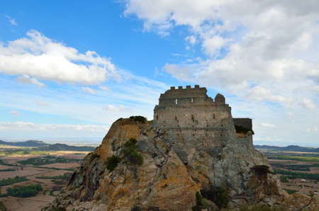 Castle of Acquafredda. Sardinia. Italy