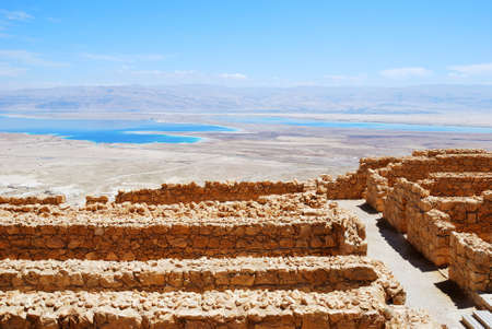 masada: Masada - ancient  fortress in the South of Israel, on the eastern edge of the Judean Desert overlooking the Dead Sea.