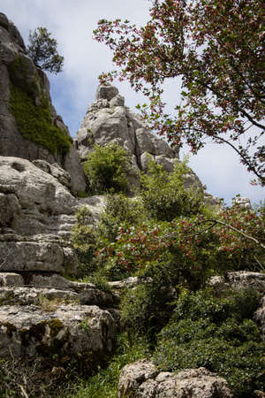Spain Andalusia travel El Torcal Antequera National Park Malaga