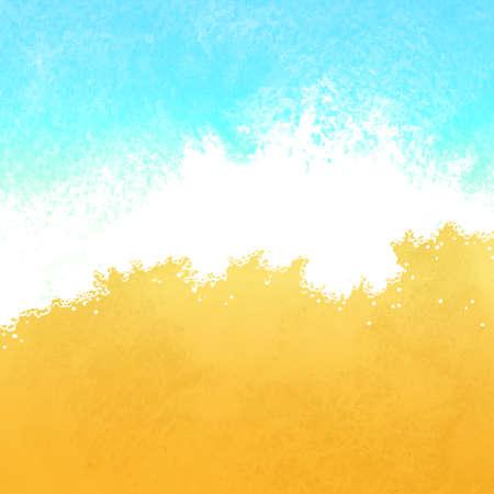 여름 수채화 그림입니다.