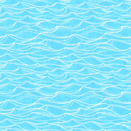 Sea waves pattern.