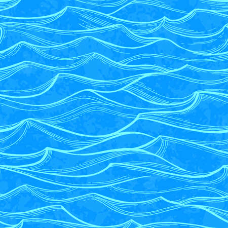 Sea waves pattern.