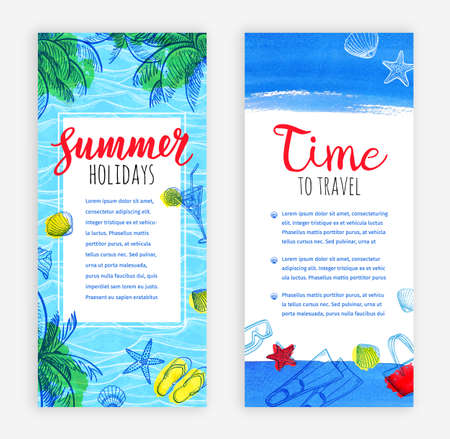Summer bunners tamplate