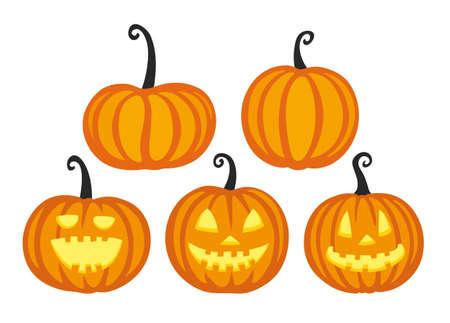 Cute halloween pumpkins.