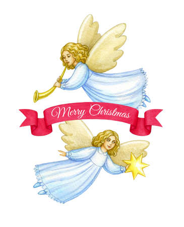 Biglietto di auguri di Natale Archivio Fotografico - 92643935
