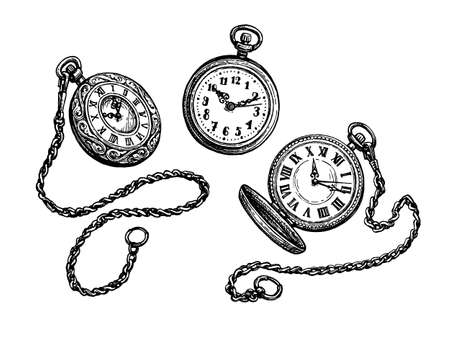 Pocket watch set.
