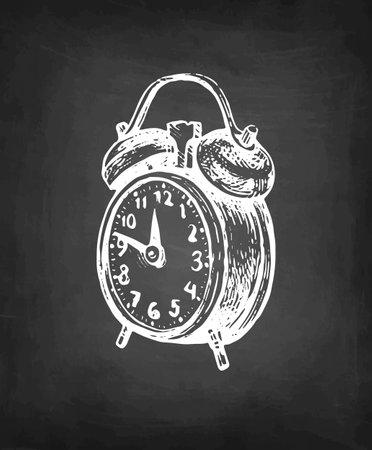 Vintage alarm clock.
