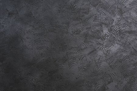 Black concrete background texture with copy space for applying text and pictures. Design and marketing.