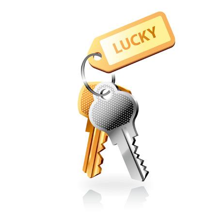 Vector keys Stock Vector - 3726697