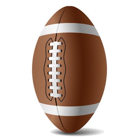 jugando al futbol: Los vectores de f�tbol americano Vectores