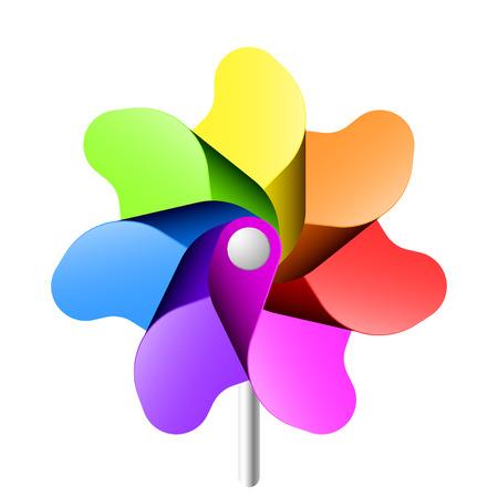 Vector pinwheel Vector