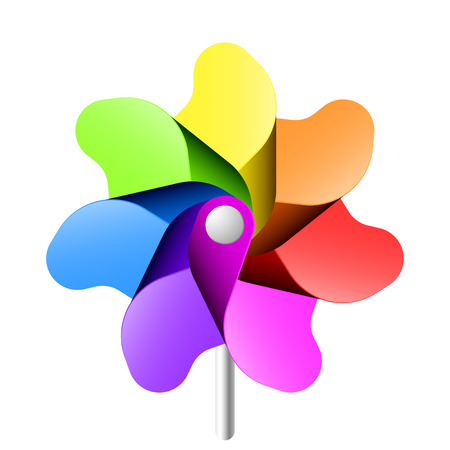 pinwheel: Vector pinwheel