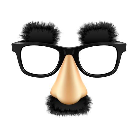 nasen: Funny Maske  Illustration